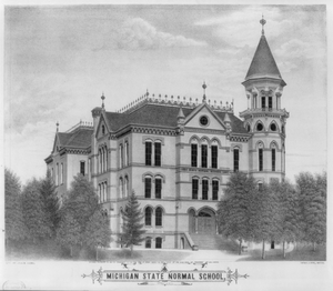 Michigan State Normal School Image
