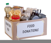 Food Bank Donations Clipart Image