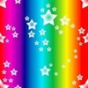 Rainbow Star Eye Colorful Image