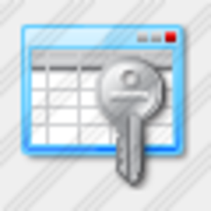 Icon Table Key Image