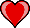 Heart Highlight Clip Art