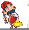 Free Plumber Clipart Image