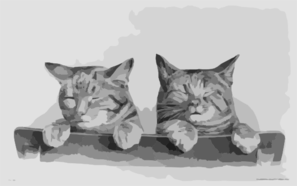 [two Kittens] Clip Art