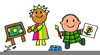 School Children Cartoon Cliparts Image