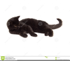 Free Clipart Of A Black Cat Image