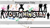 Youth At Church Clipart Image