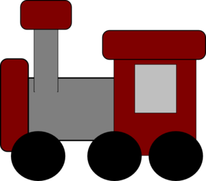 Red Train Clip Art