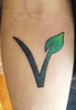 Vegetarian Tattoo Ideas Image