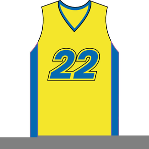 basketball jersey clipart free images at clker com vector clip rh clker com basketball jersey clip art free basketball jersey clipart free
