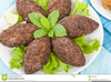 Middle Eastern Food Clipart Image
