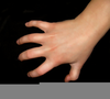 Right Hand Clawing Image
