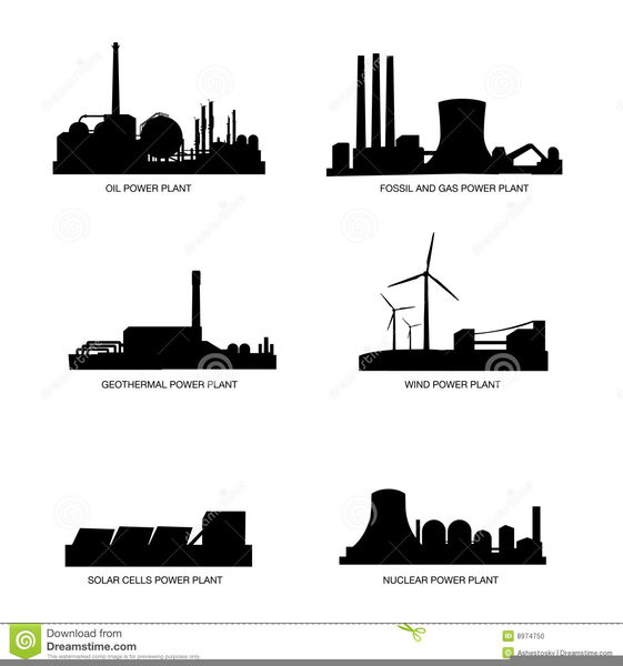 Coal Power Plant Clipart | Free Images at Clker.com ...