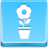 Pot Flower Icon Image