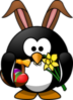 Easter Penguin Image