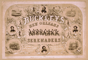 Buckley S New Orleans Serenaders Who Have Appeared With Great Success In The Following Countries, England, Ireland, Scotland, Wales, Mexico, California & Principal Cities Of The United States. Image