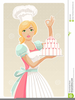 Pastry Chef Clipart Image