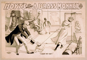 Hoyt S Comic Whirlwind, A Brass Monkey A Satire On Superstition. Image