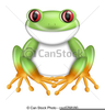Red Eyed Tree Frog Clipart Image