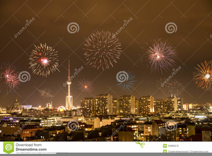 new year fireworks clipart image