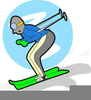 Winter Olympic Sports Clipart Image