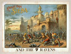 Kiralfy Bros  Sieba And The 7 Ravens Image