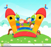 Bounce Houses Clipart Image