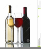 Clipart Of Wine Bottles And Glasses Image