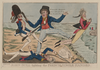 John Bull Fighting The French Single Handed  / P.f.l.b. Fecit. Image