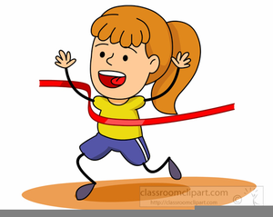runner crossing finish line clipart free images at clker com rh clker com
