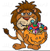 Trick Or Treat Smell My Feet Clipart Image