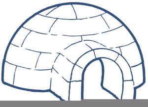black white clipart igloo free images at clker com vector clip rh clker com clipart good job clip art igloos