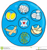 Free Seder Meal Clipart Image