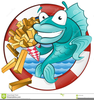 Chip Clipart Fish Free Image