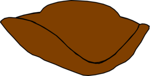 Brown Hat Clip Art