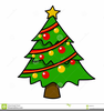 Clipart Of Christms Tree Branch Image