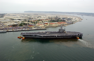 Uss Stennis Homecoming Image