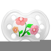Baby Pacifier Clipart Free Image