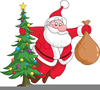 Cute Father Christmas Clipart Image