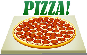 pepperoni pizza clipart free free images at clker com vector rh clker com pepperoni pizza ingredients clipart Pizza Box Clip Art