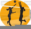 Volleyball Clipart Spike Image