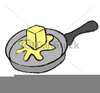 Melted Butter Clipart Image