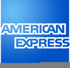 American Express Credit Card Clipart Image