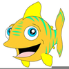 Cartoon Clipart Of Fish Image