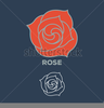 Free Rose Clipart Vector Image