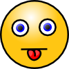 Smiley With Tongue Out Clip Art