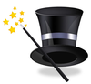 Free Clipart Magic Hat And Wand Image