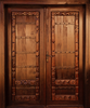 Carved Wooden Door Image
