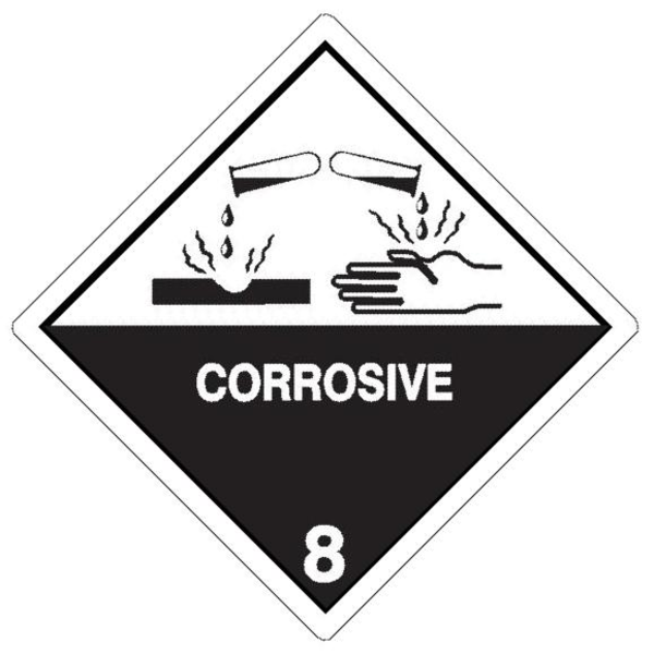 Explosive Symbol Vector Corrosive image - vector clipExplosive Symbol Vector