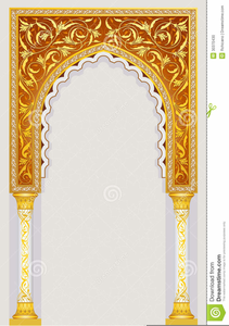 Indian Arch Clipart Image