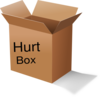 The Hurt Box Clip Art